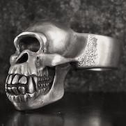 Cyclops Chimp Skull Ring
